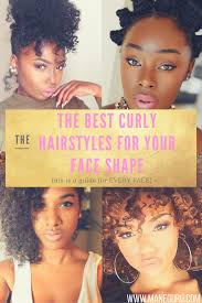 the best curly hairstyles for your face shape round long heart