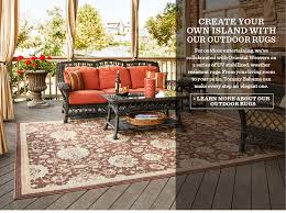 Make Your Own Outdoor Rug Midvale Outdoor Rug By Porta Forma Traditional Outdoor Home