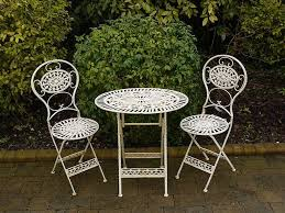 Amazing Black Wrought Iron Table And Chairs With Popular Wrought