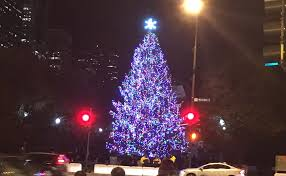 chicago tree lighting 2017 christmas tree lighting chicago 2017 millennium park holiday tree