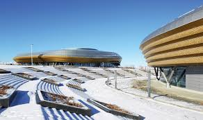 ice sports center of the 13th china national winter games