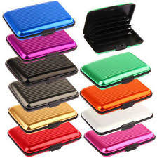 Pocket Business Card Holder Metal Waterproof Wallet Ebay