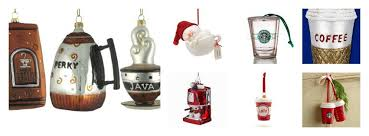 tree ornaments for food travelers
