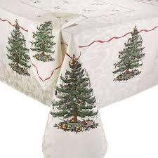 spode tree tablecloth the fair