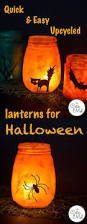Mason Jar Halloween Lantern 526 Best Recycle Upcycle Diy Halloween Images On Pinterest