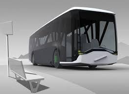 Futuristic Design New Public Transport Comes With Futuristic Design Futuristic