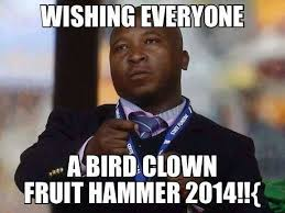 Happy New Year Meme 2014 - fake south african sign language interpreter happy new year memes
