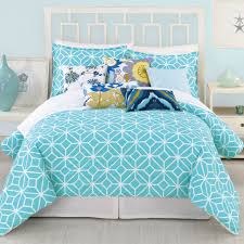 trina turk trellis turquoise comforter 3 piece set zinc door