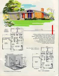 1960s ranch house plans homes and plans of the 1940 s 50 s 60 s and 70 s flickr