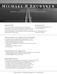 Superintendent Resume Modern Résumé Designs Not Just For Tech Job Seekers Orlando