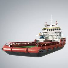 3d model offshorevessel offshore vessel cgtrader