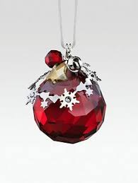 ornament to our 1st 3 swarovski 2012