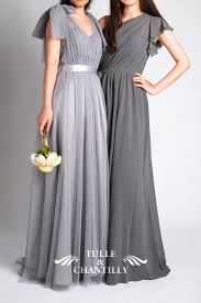 light gray long dress top 10 new bridesmaid dresses 2015 styles from chiffon bridesmaid