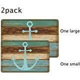 Retro Bathroom Rugs Amazon Com Bathroom Rug Uphome Vintage Retro Nautical Anchor