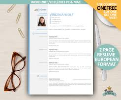 Cv Full Form Resume Curriculum Vitae Europass Cv Template European Format Resume