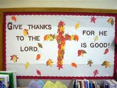 thanksgiving bulletin board could use my fall in with jesus