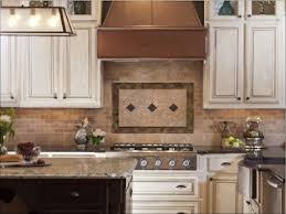 kitchen room magnificent copper mosaic tile backsplash brushed