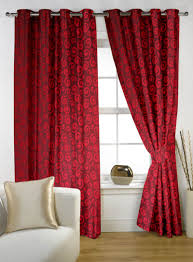 maroon door curtains u0026 kenneth extra wide blackout panel