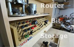 Kitchen Cabinet Router Bits Shop Built Router Bit Storage Cabinet Youtube