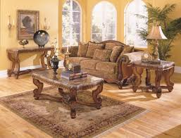 3 piece coffee table set country style two tone wood finish black