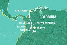 Map Of Colombia South America by Best Of Colombia Colombia Tours Geckos Adventures Au