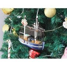 day dreamer fishing boat ornament christmas ornaments