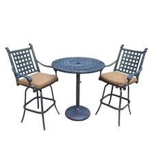 Balcony Height Patio Chairs Best Of Balcony Height Patio Set Or Home Depot Outdoor Chairs