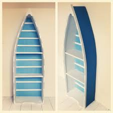 ideas collection painted boat bookcase casa pinterest in boat