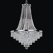 and pearl chandelier shop glow lighting vista 19 in 9 light silver pearl clear