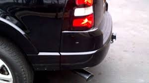 Ford Explorer Exhaust - 2007 explorer 4 6 v8 with gibson side swept catback exhaust youtube