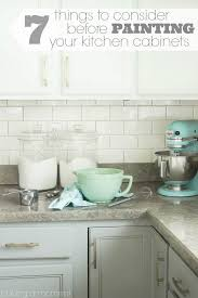 kitchen mini reno part 1 seven things to consider before having
