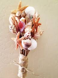 seashell bouquet savvy deets bridal diy shell bouquet