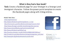 what is they had a face book task create a facebook page for