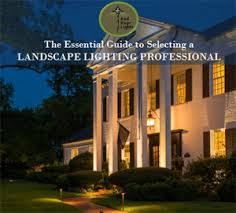 landscape lighting development process by red river lights