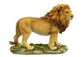 lion statue standing lion animal statues wildlife statues animal home dcor