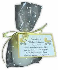 candle baby shower favors discount cheap baby powder candle favors scented baby powder