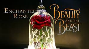enchanted rose diy movie prop beauty and the beast live action