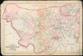 Map Of Boston by Outline U0026 Index Map Of Dorchester Ward 24 City Of Boston