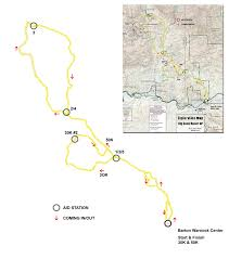 Big Bend National Park Map Big Bend 50 Ultra Run In Big Bend Ranch State Park