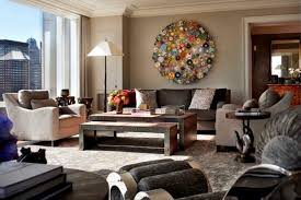 unique shaped wall for traditional living room ideas