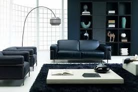 black living room ideas black wall color black sofa white area rug