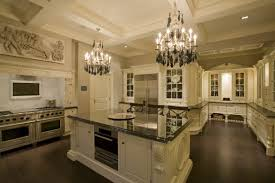 classic kitchen decoration modern ceiling lighting over white
