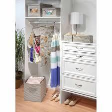 interdesign chevron fabric closet dresser drawer storage organizer