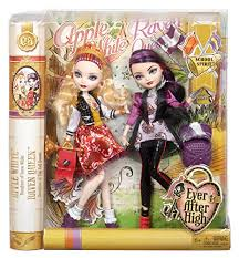 Ever After High Apple White Doll Amazon Com Ever After High Spirit Apple White And Raven