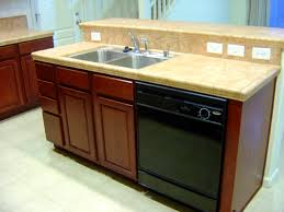 pictures of kitchen islands with sinks kitchen venting a kitchen island sink and dishwasher ideas