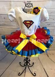 superman ribbon superman tutu set superman ribbon trimmed tutu
