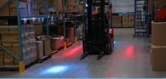 blue warning lights on forklifts red zone safety light archives illinois material handling