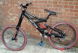 porta mtb auto azonic eliminator custom built dh mountain bike