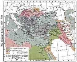 Present Day Ottoman Empire Atlas Of The Ottoman Empire Wikimedia Commons
