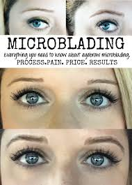 eyeliner tattoo pain level eyebrow microblading my personal experience part 1